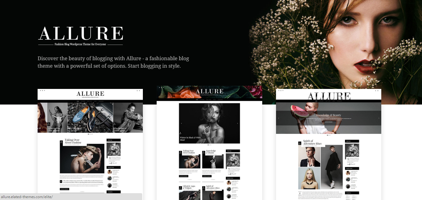allure theme - health wordpress theme - medical wordpress theme