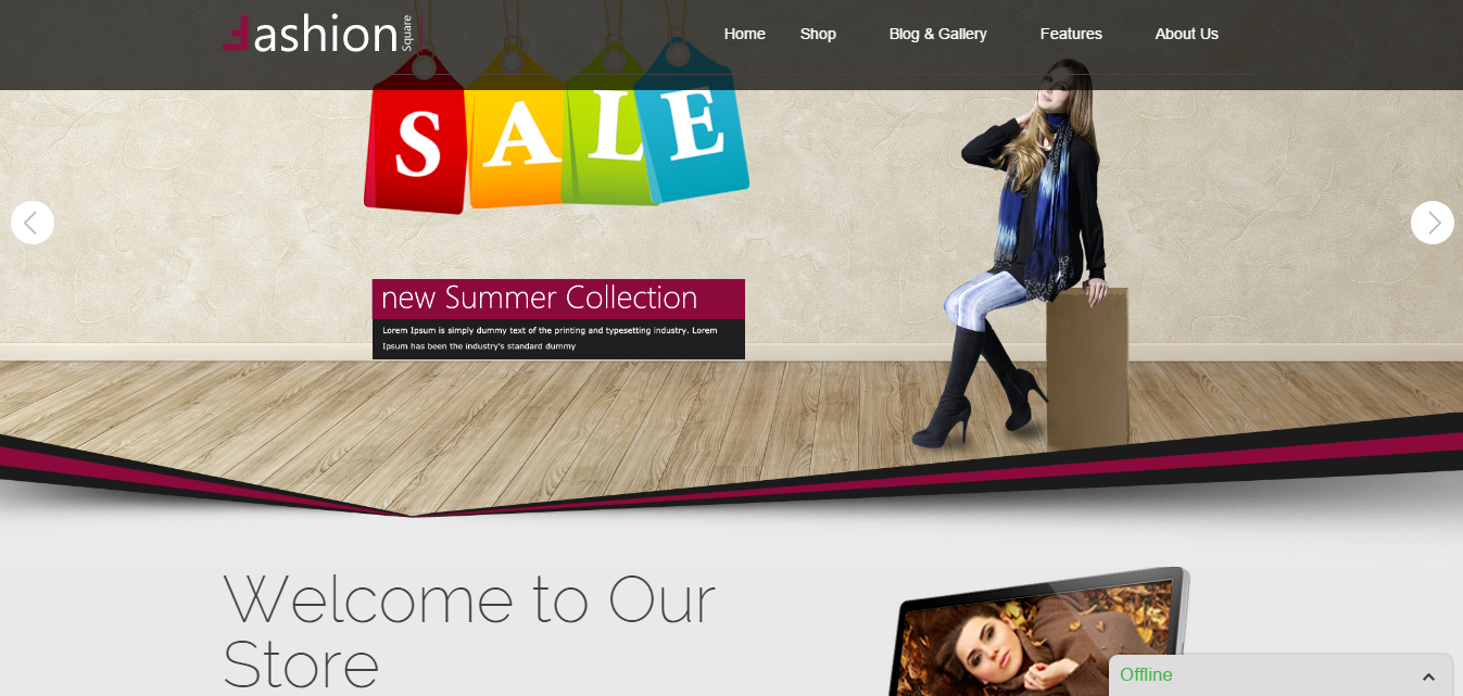 Fashion Theme Theme For Fashion Fullscreen Page Builder Plugin Theme Wordpress Theme For
