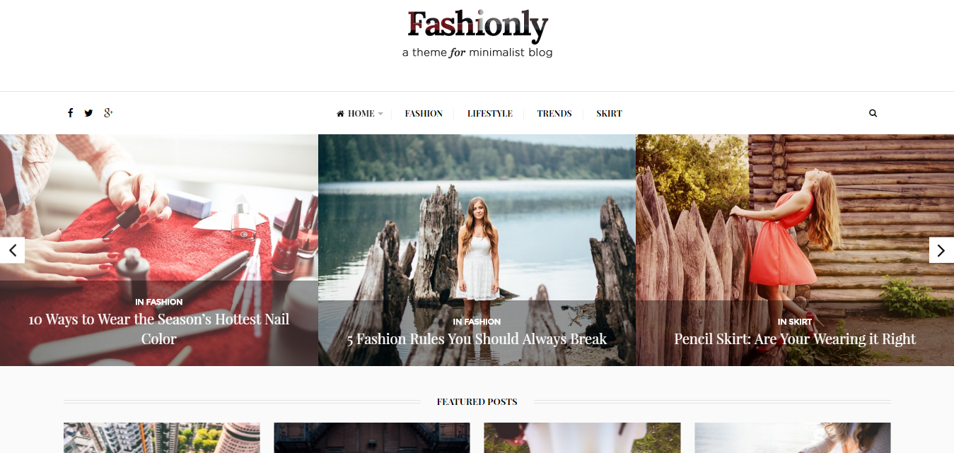 fashionly theme - health wordpress theme - medical wordpress theme