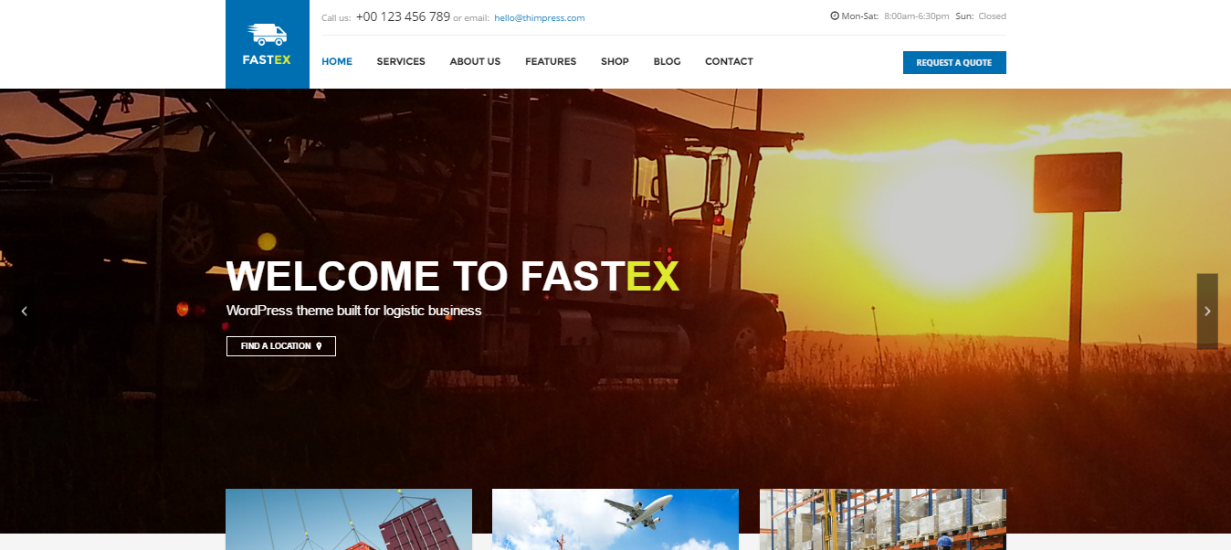 fastex theme wordpress - medical wordpress theme - health wordpress theme