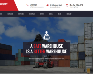 feature logistic theme wordpress - medical wordpress theme - health wordpress theme