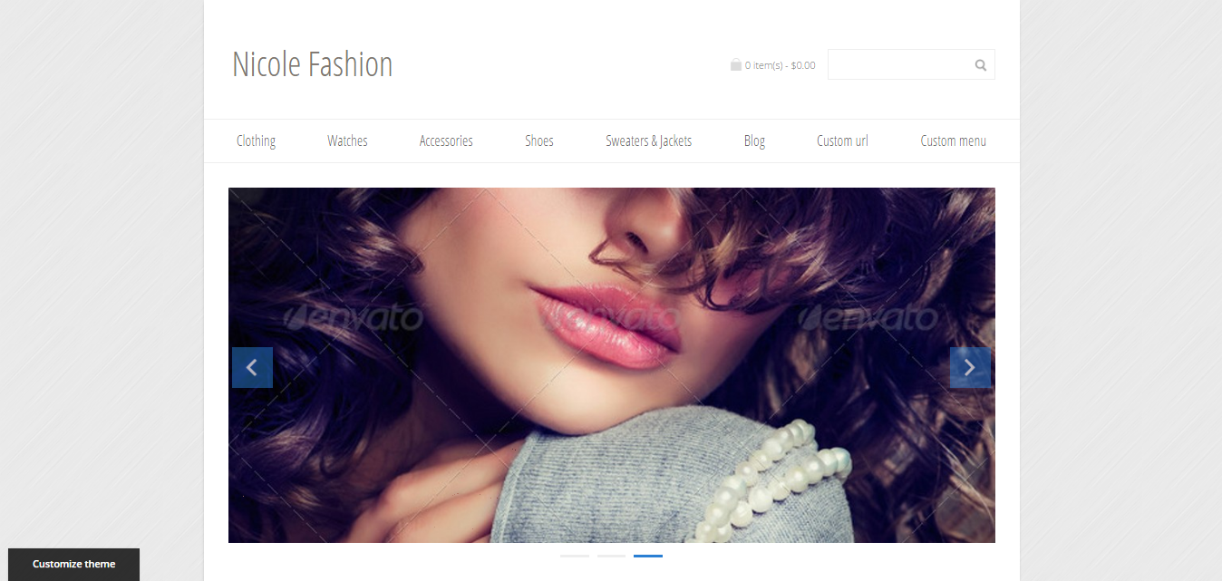 nicole fashion theme - health wordpress theme - medical wordpress theme