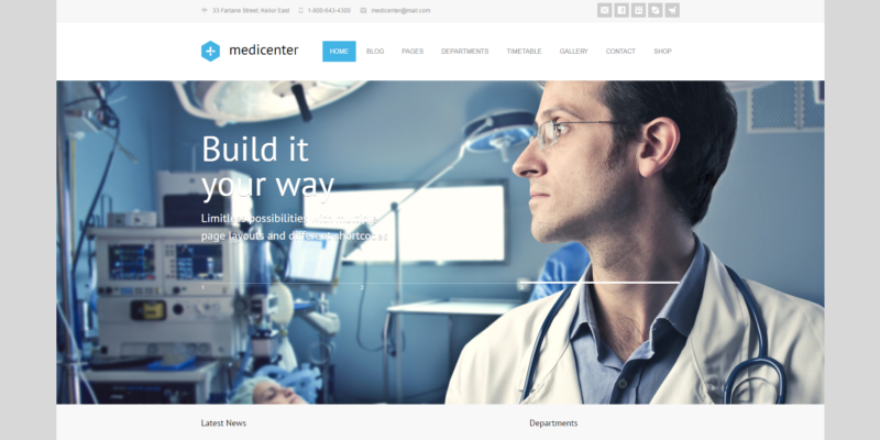 25 best healthcare and medical wordppress theme 2016