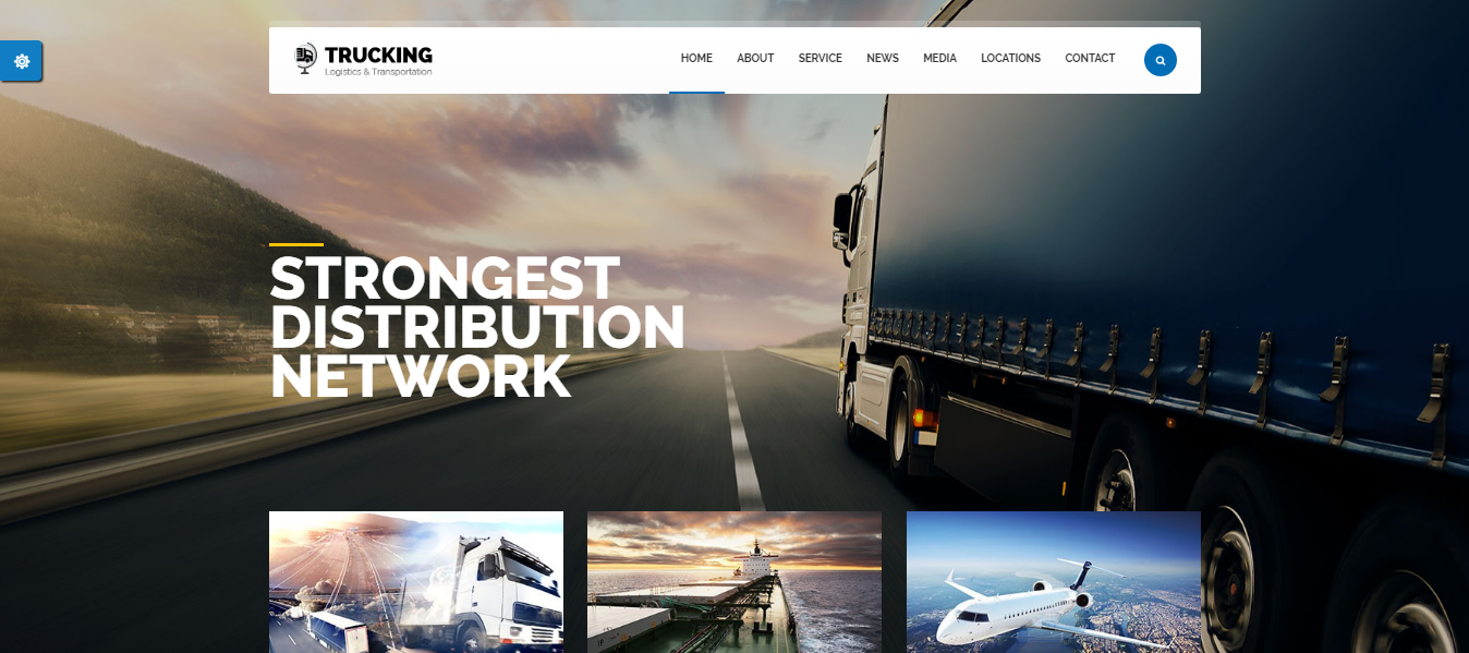 trucking theme wordpress - medical wordpress theme - health wordpress theme