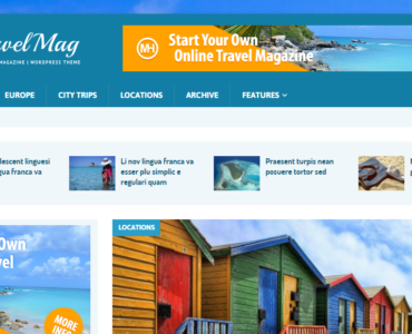 travelmag theme - free wordpress theme - wordpress theme free - medical wordpress theme - health wordpress theme