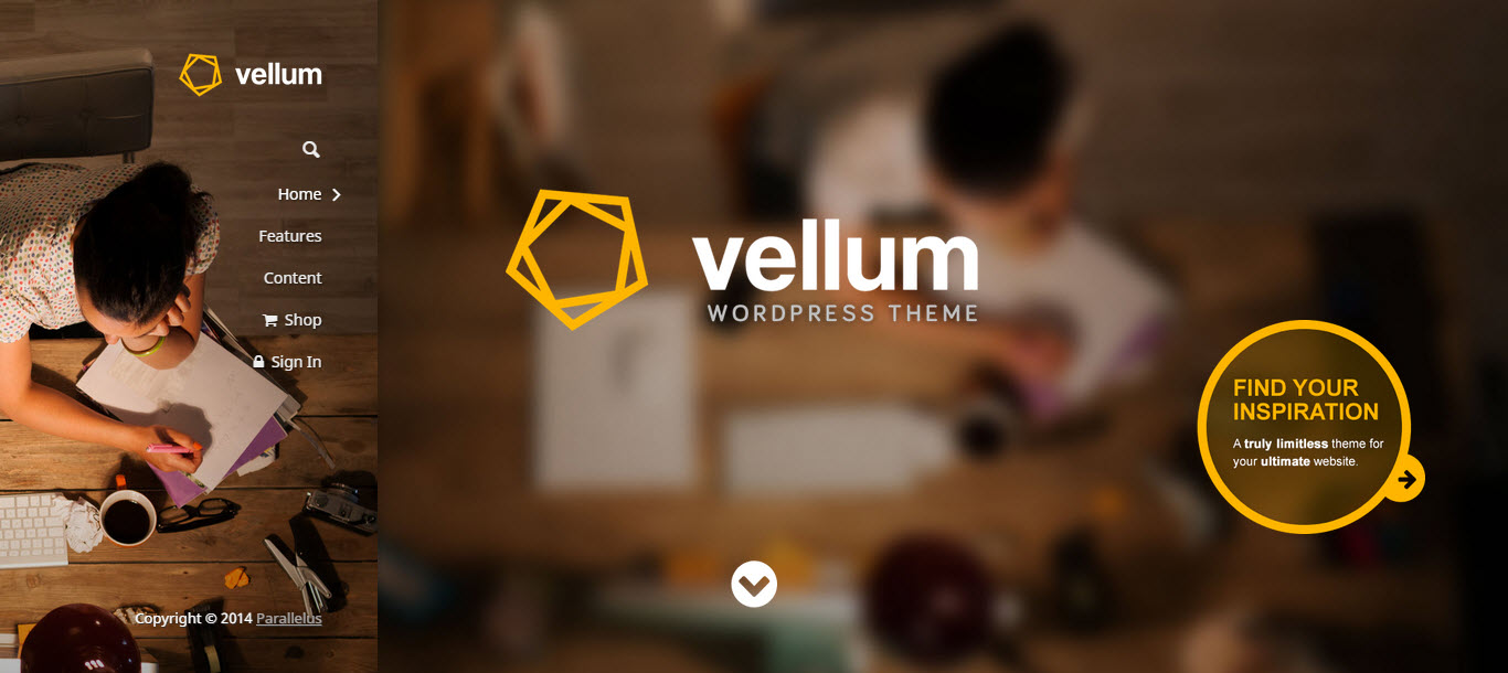 vellum wordpress theme - wedding wordpress theme - health wordpress theme - medical wordpress theme