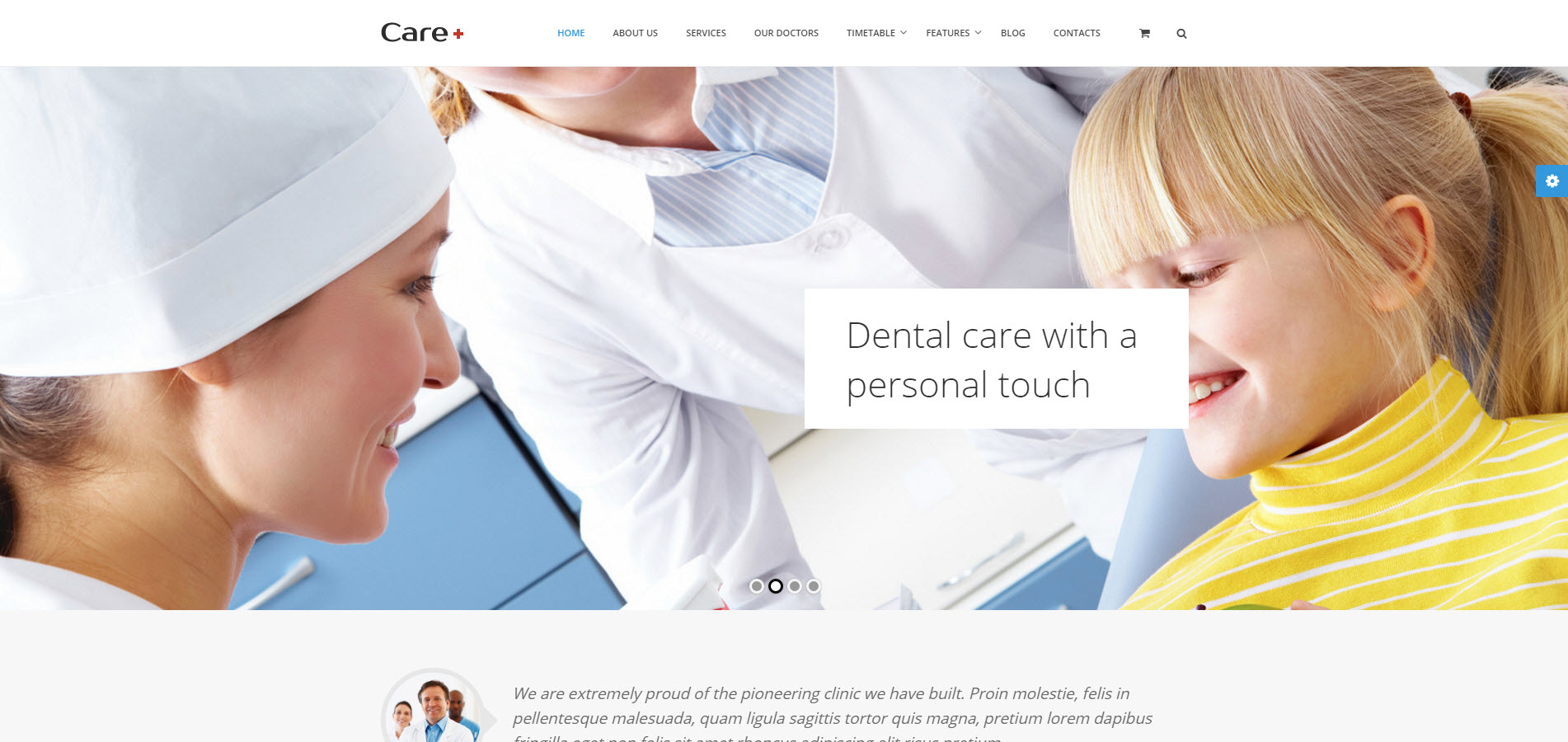 care wordpress theme - medicare wordpress theme - heath wordpress theme - theme for medical - theme for dentist