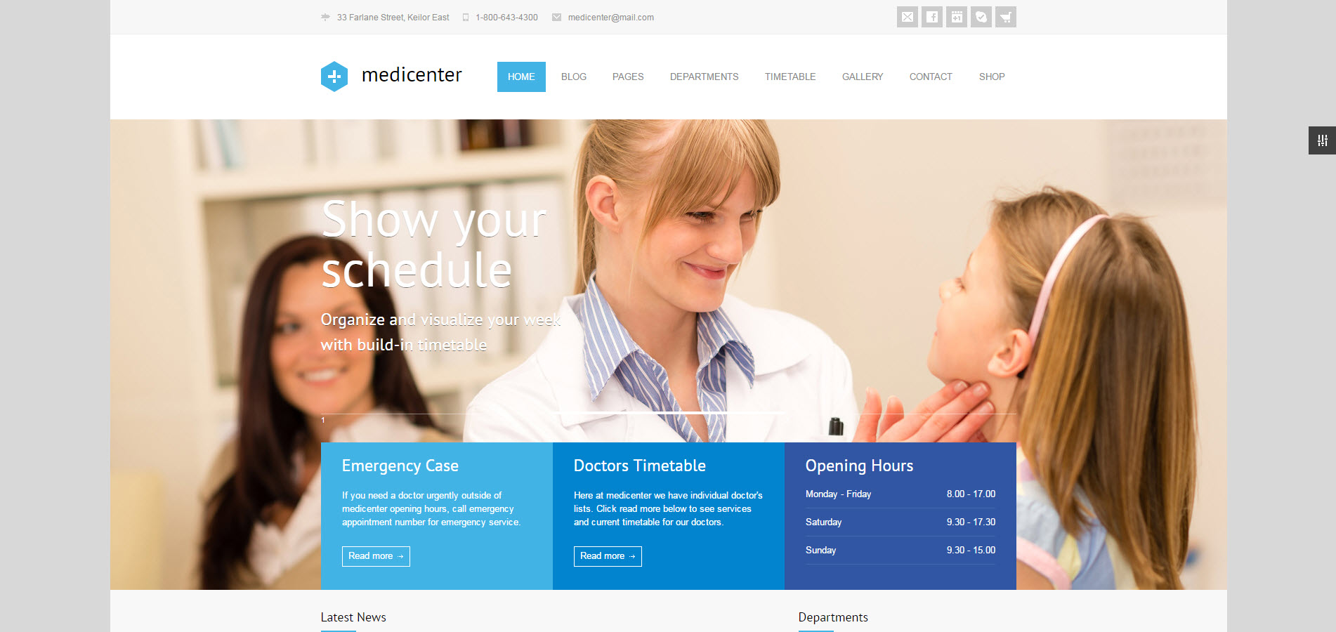 dentist wordpress theme - medicare wordpress theme - heath wordpress theme - theme for medical - theme for dentist
