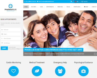 feature - imedicare wordpress theme - medicare wordpress theme - heath wordpress theme - theme for medical - theme for dentist