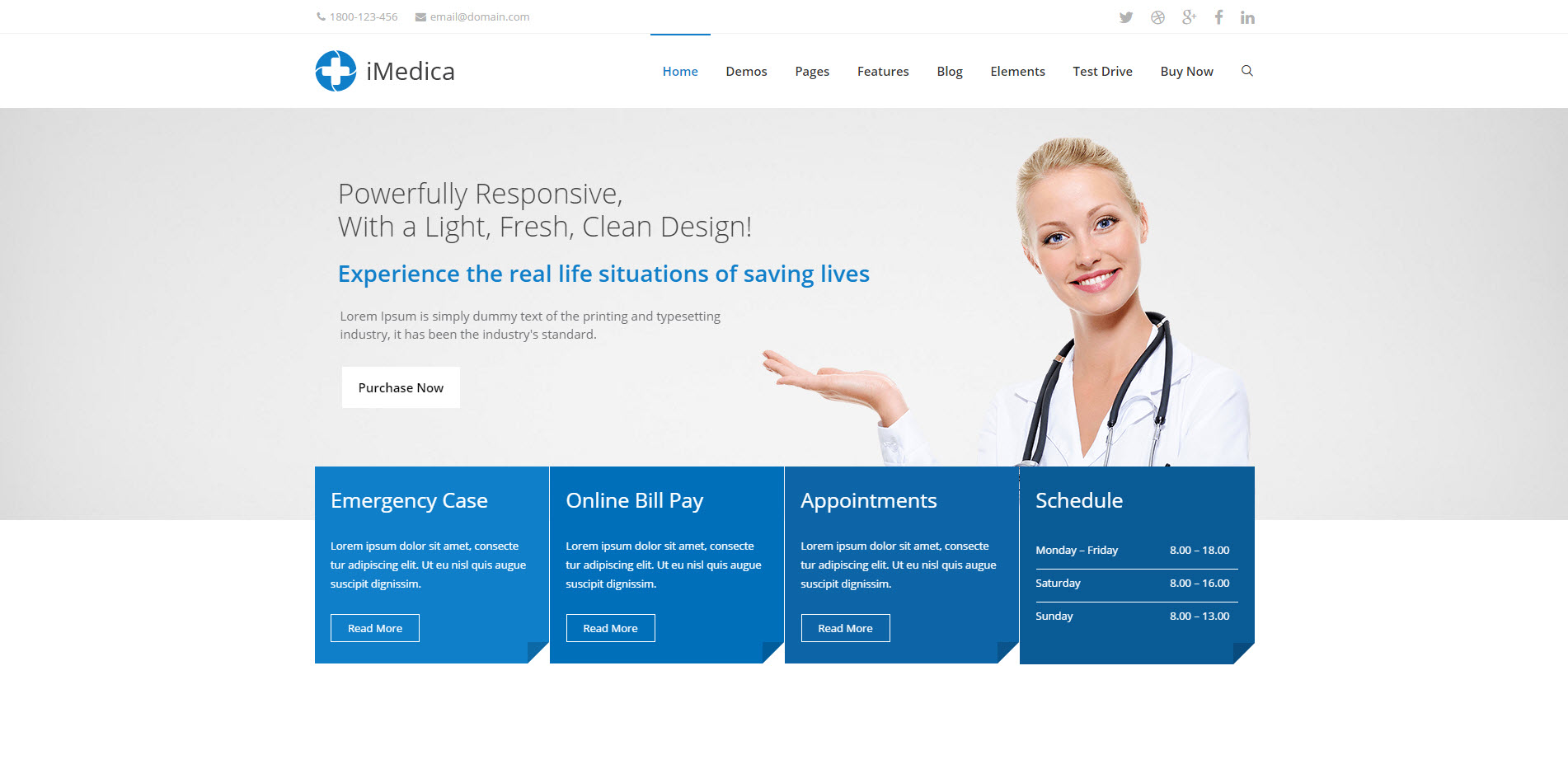 imedicare wordpress theme - medicare wordpress theme - heath wordpress theme - theme for medical - theme for dentist