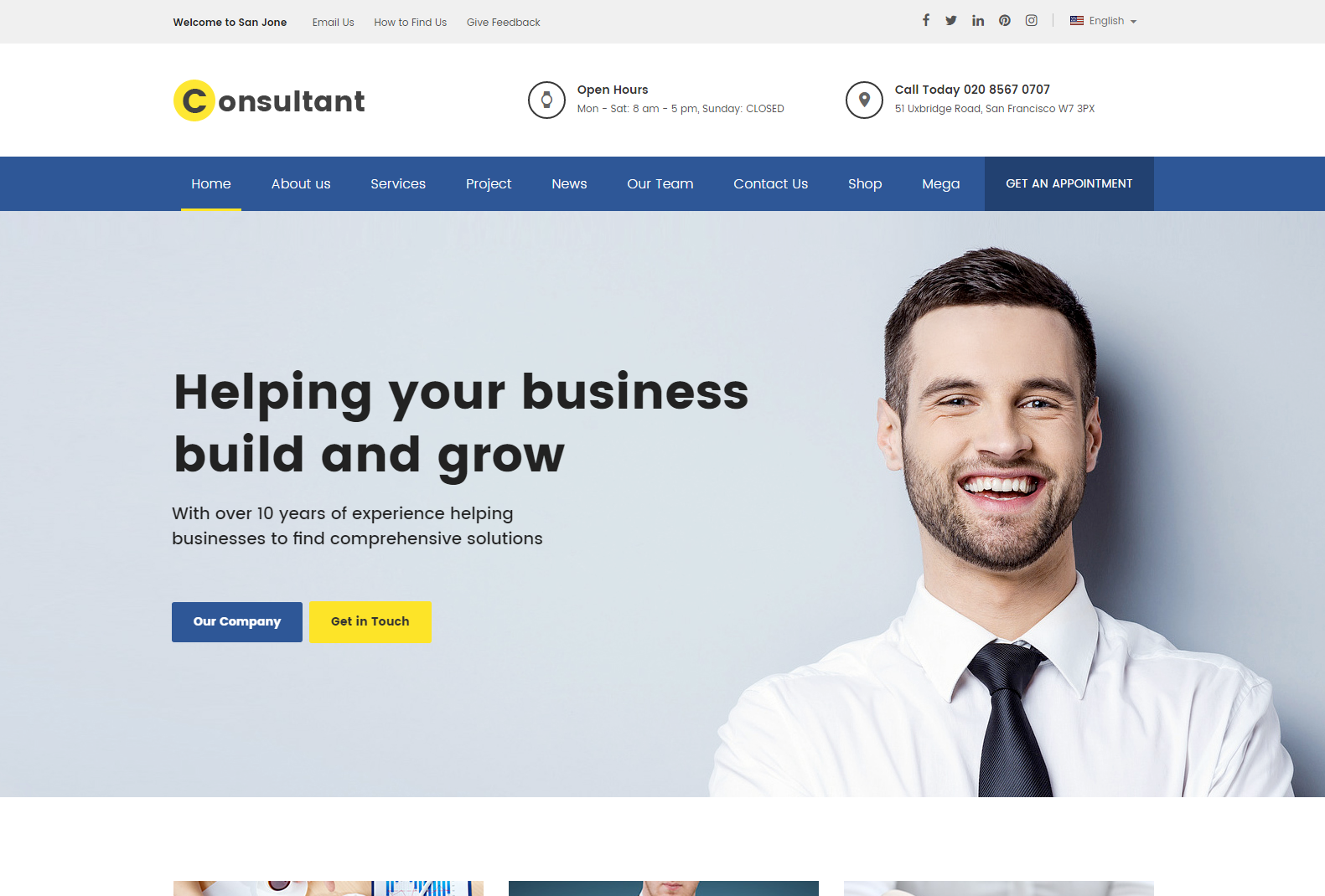 consultant business theme wordpress - finance wordpress theme - marketing wordpress theme - wordpress theme