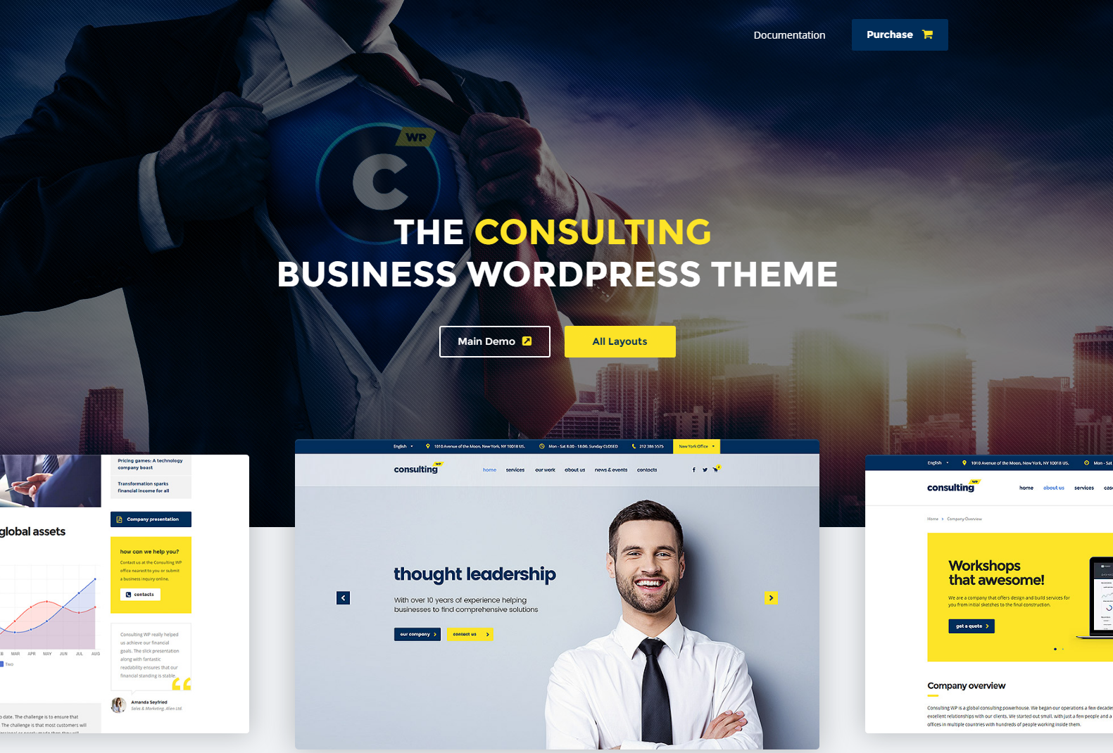 consutanting theme wordpress - finance wordpress theme - marketing wordpress theme - wordpress theme