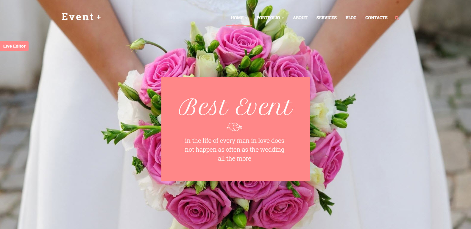 wedding theme - event wordpress theme - medical wordpress theme - health wordpress theme - finance wordpress theme