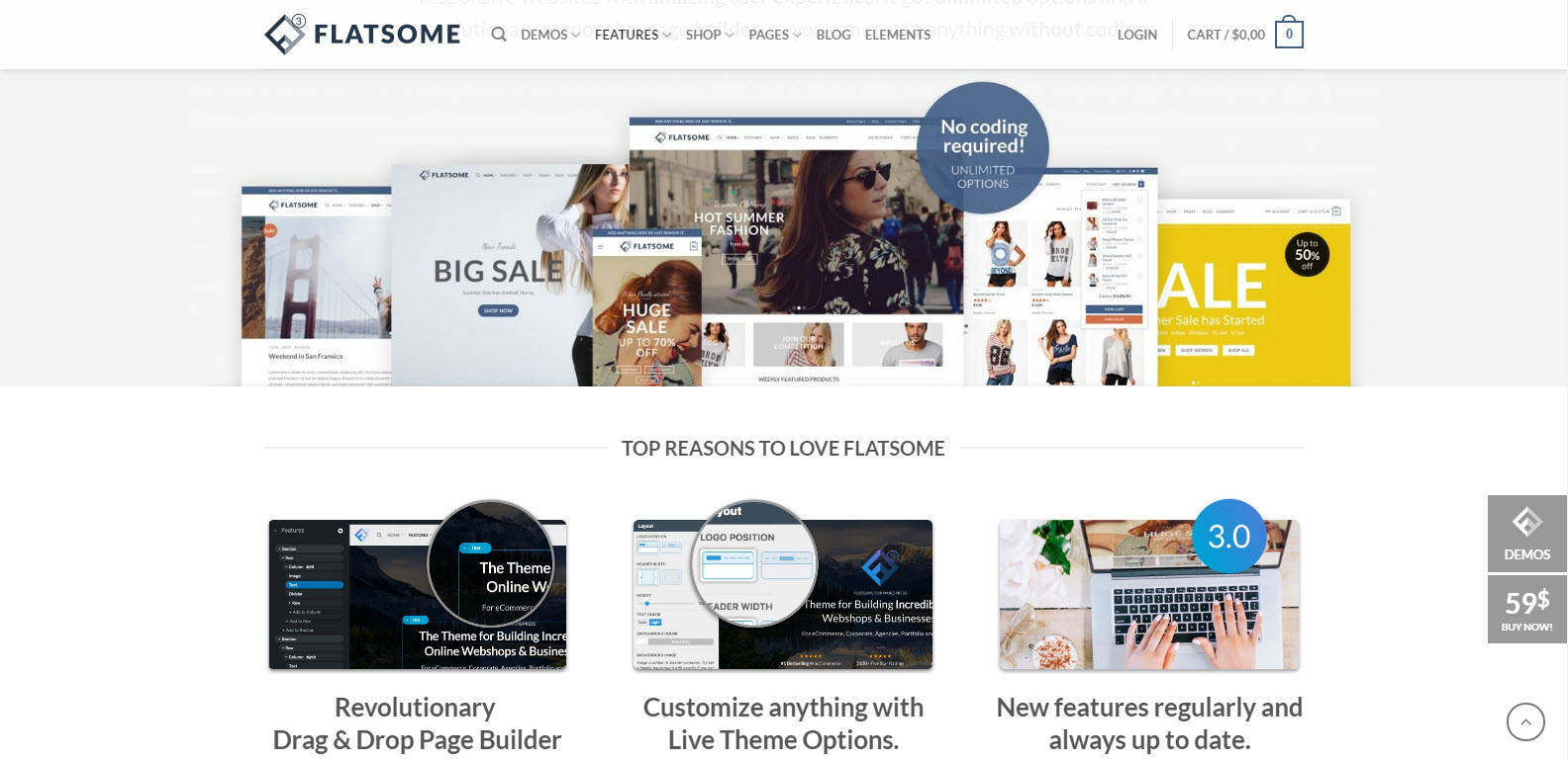 flatsome top theme- theme multipage-health wordpress theme-finance wordpress theme