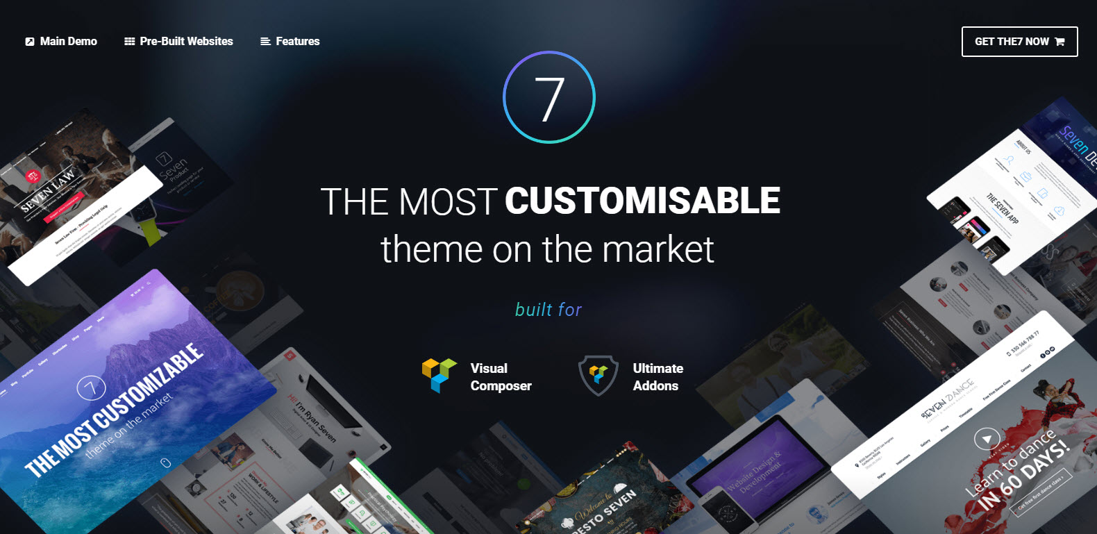 the seven top theme- theme multipage-health wordpress theme-finance wordpress theme