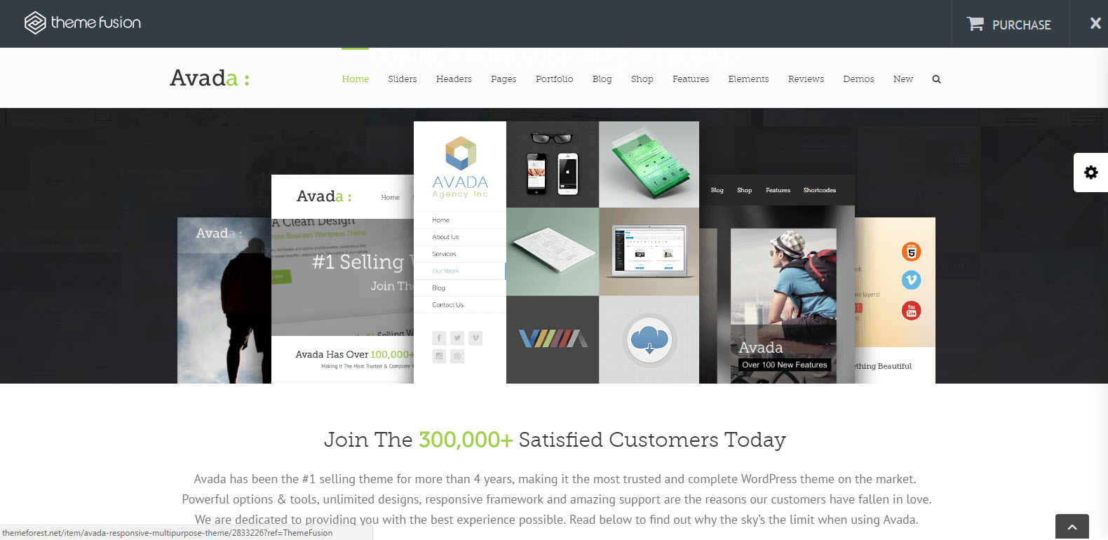 top theme - best seller - theme multipage