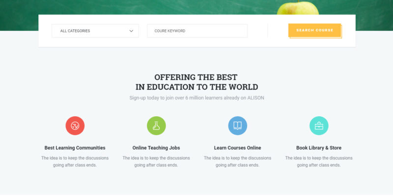 Education HTML Template - Education WordPress Theme - Corpthemes