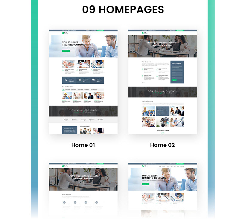 ConsultingWordpress Theme - Finance, Accounting Marketing