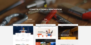 best construction wordpress theme - theme construction wordpress - finance wordpress theme