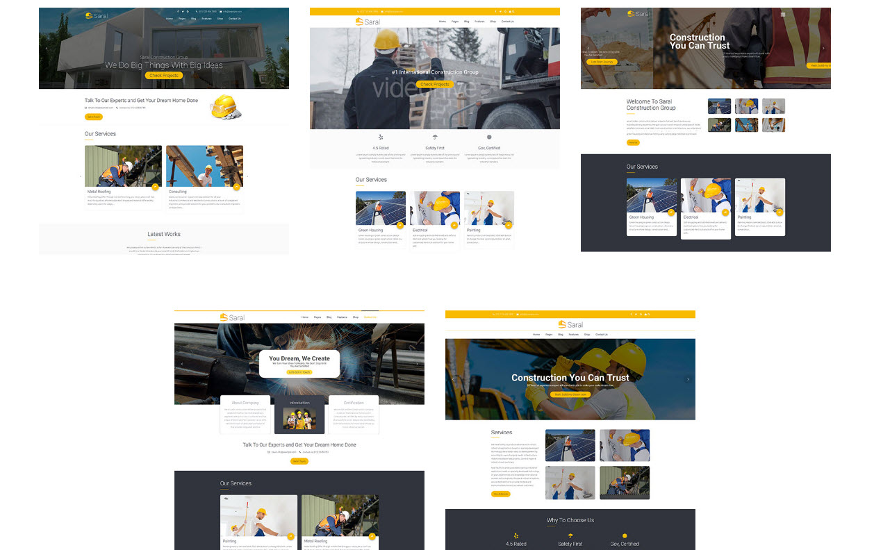 company construction wordpress theme - theme construction wordpress - finance wordpress theme