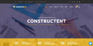 constructend building wordpress theme - theme construction wordpress - finance wordpress theme