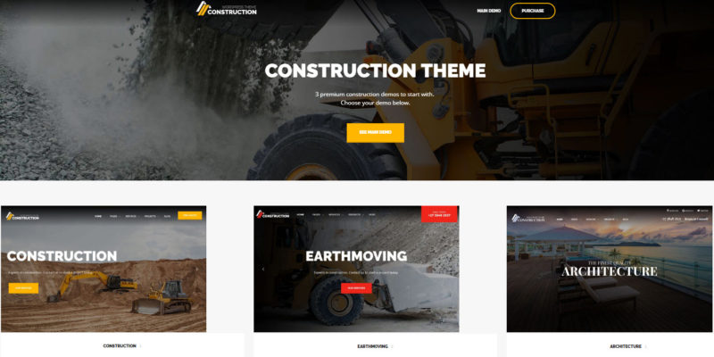 construction building wordpress theme - theme construction wordpress - finance wordpress theme